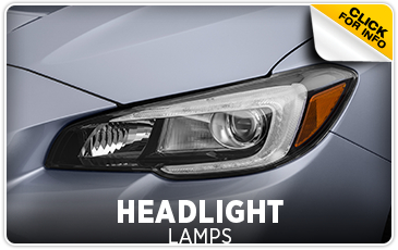 Click for more information on genuine Subaru headlight lamps available at Gold Rush Subaru in Auburn, CA