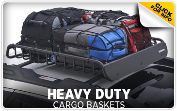 Click for more information on genuine Subaru heavy duty cargo baskets available at Gold Rush Subaru in Auburn, CA