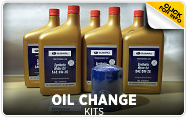 Click for more information on genuine Subaru oil change kits available at Gold Rush Subaru in Auburn, CA