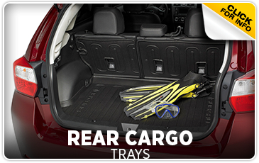 Click for more information on genuine Subaru Rear Cargo Tray available at Gold Rush Subaru in Auburn, CA