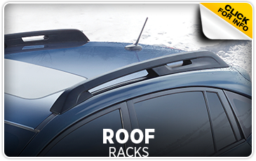 Click for more information on genuine Subaru Roof Racks available at Gold Rush Subaru in Auburn, CA