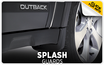 Click for more information on genuine Subaru Splash Guards available at Gold Rush Subaru in Auburn, CA