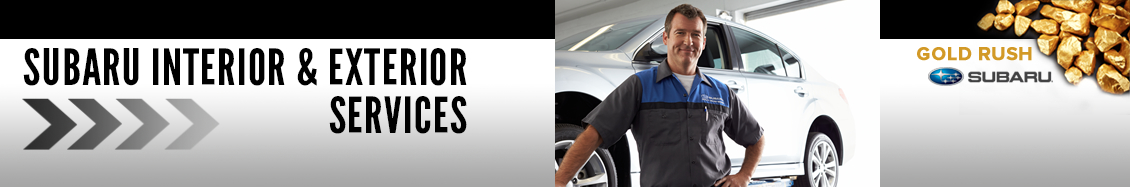 Learn about Subaru interior and exterior maintenance procedures from Gold Rush Subaru in Auburn, CA
