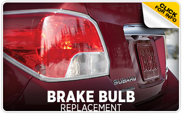 Learn more about Subaru brake bulb replacement service Information from Gold Rush Subaru in Auburn, CA