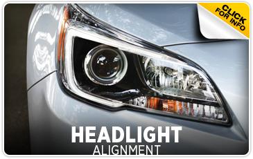 Learn more about Subaru headlight alignment service Information from Gold Rush Subaru in Auburn, CA