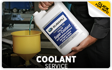 Subaru Coolant System Service Information from Gold Rush Subaru in Auburn serving Sacramento, California