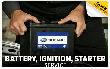 Subaru Automotive Battery Service Information serving Newcastle and Loomis, California