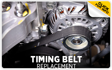 Subaru timing belt replacement service Information from Gold Rush Subaru in Auburn serving Sacramento, California