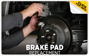 Subaru Brake Pad Replacement Service Information serving Newcastle and Loomis, California