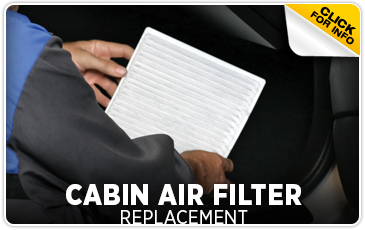 Subaru Cabin Air Filter Service Information serving Newcastle and Loomis, California