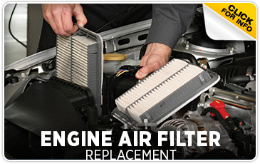 Subaru Engine Air Filter Service Information serving Newcastle and Loomis, California