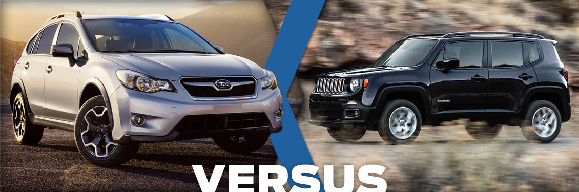 2015 subaru xv crosstrek vs jeep renegade model comparison puyallup wa. Black Bedroom Furniture Sets. Home Design Ideas
