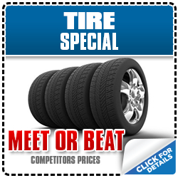 Meet or beat special offer on tires for your Subaru at Gold Rush Subaru in Auburn, CA