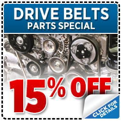 Genuine Subaru Drive Belt Parts Special
