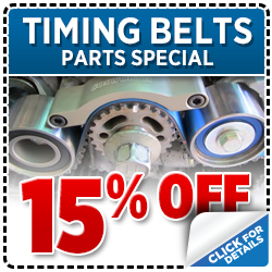 Genuine Subaru Timing Belt Parts Special