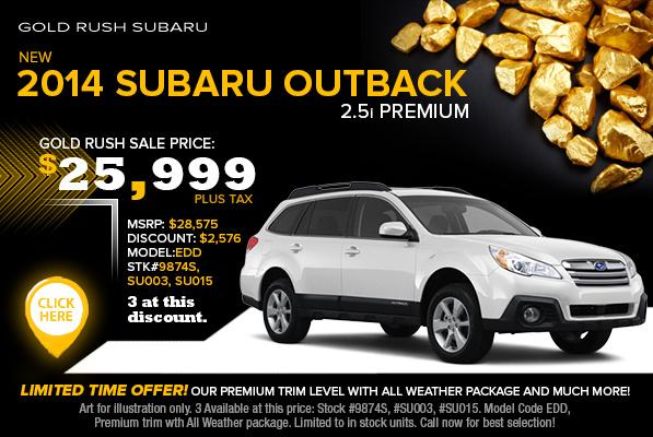 New Subaru Vehicle Specials | Auburn, CA Discount Car ...