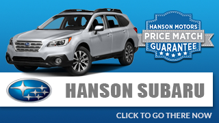 View Our New Subaru Models at Hanson Subaru
