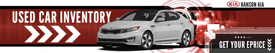 Used Kia Model Vehicle Inventory at Hanson Kia in Olympia, Washington