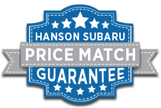 Hanson Subaru Price Guarantee