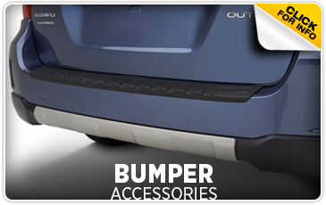 Click for more information on genuine Subaru bumper accessories available at Hanson Subaru in Olympia, WA
