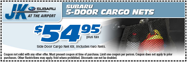 Genuine Subaru Cargo Net Parts Special Serving Lake Charles, TX