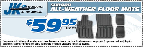 Genuine Subaru All-Weather Floor Mats Serving Beaumont, TX