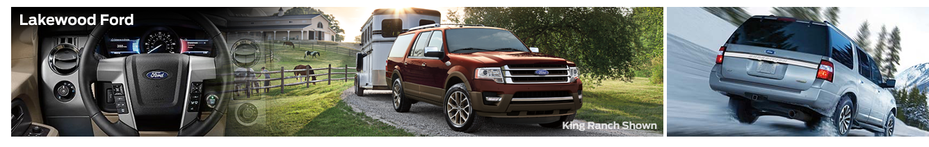 2016 Ford Expedition EL Model Features & Details