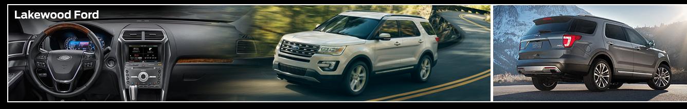 2016 Ford Explorer Model Features & Details