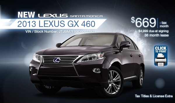 Lexus Service Santa Monica >> Lease Specials June 2013 | Autos Post