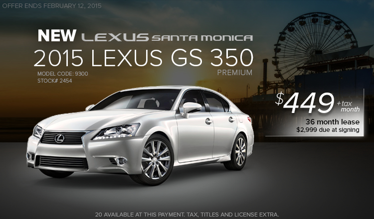 lexus lease promotions