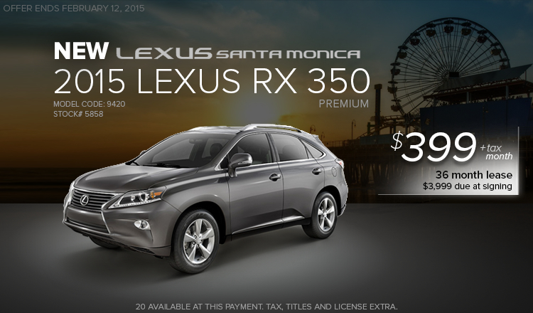 Lexus Service Santa Monica >> Santa Monica Lexus Lease Specials | Los Angeles Area Dealer Offers