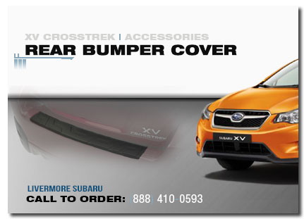 Genuine Subaru Xv Crosstrek Rear Bumper Cover Free