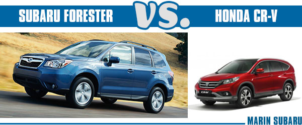 2014 subaru forester vs 2014 honda cr v vehicle for Honda crv vs subaru forester