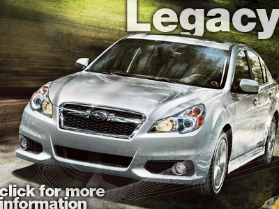 Purchase Subaru Legacy Accessories from Michael Hohl Subaru serving Reno, Nevada