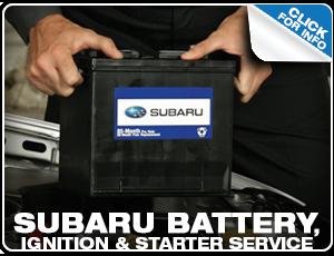 Subaru Common Battery Services Reno, NV