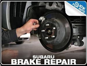 Subaru Brake Repair Services Reno, NV