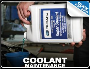 Subaru Coolant Maintenances Services Reno, NV