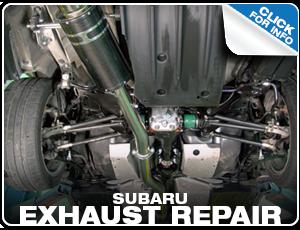 Subaru Exhaust Repair Services Reno, NV