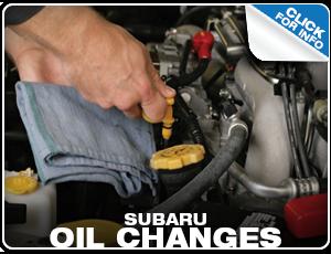 Subaru Oil Change Services Reno, NV