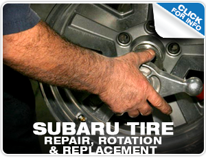 Subaru Tire Repair Services Reno, NV