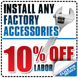 Subaru Factory Accessories Installation Service Coupon Special Reno, NV
