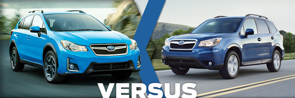 2016 subaru crosstrek vs forester feature detail comparison. Black Bedroom Furniture Sets. Home Design Ideas