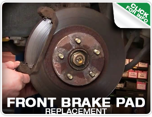 Subaru Front Brake Pads Replacement Service at Mike Shaw Subaru