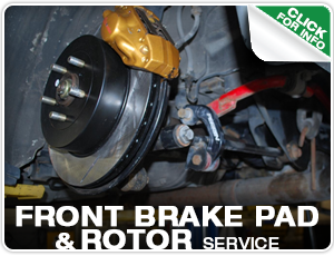 Subaru Front Brake Pad & Rotor Replacement Service at Mike Shaw Subaru
