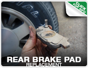 Subaru Rear Brake Pad Replacement Service at Mike Shaw Subaru
