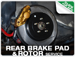 Subaru Rear Brake Pad & Rotor Replacement Service at Mike Shaw Subaru