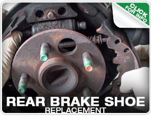Subaru Rear Brake Shoe Replacement Service at Mike Shaw Subaru