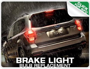 Subaru Brake Light Bulb Replacement Service at Mike Shaw Subaru