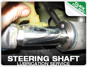Steering Shaft Lubrication at Mike Shaw Subaru