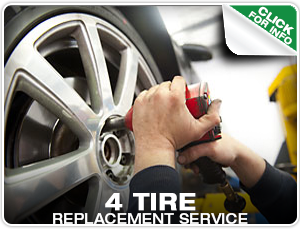 4 Tire Replacement Service in Denver, Colorado at Mike Shaw Subaru